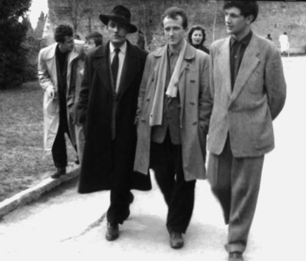U proleće 1957.godine Branko Miljković i njegova književna sabraća Božidara Timotijević, Žika Lazić i Milovana Danojlić šetali su Beogradskom tvrđavom