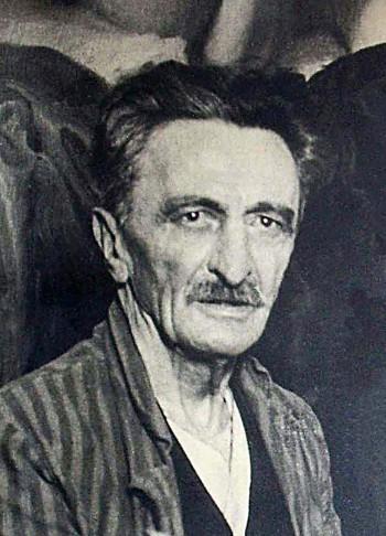 Branislav Nušić pred kraj života 1937.godine
