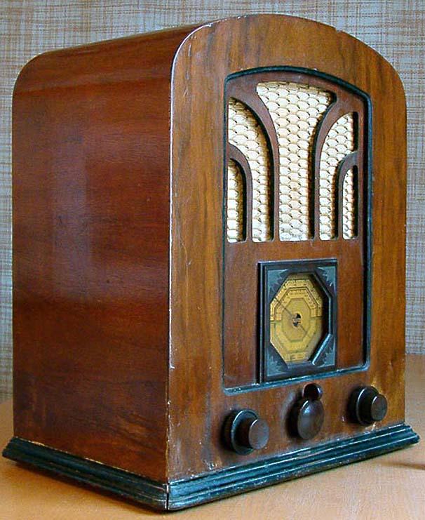 Radio aparat marke Philips iz 1929